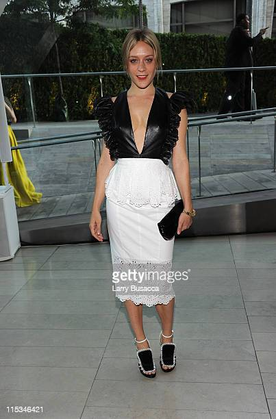 Actress Chloe Sevigny attends the 2011 CFDA Fashion Awards at Alice Tully Hall Lincoln Center on June 6 2011 in New York City