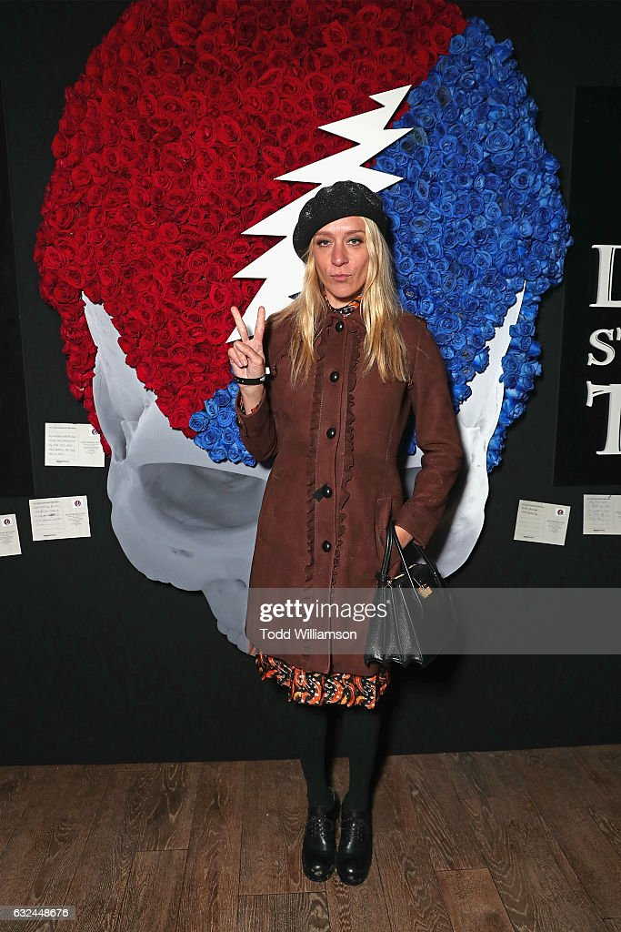 Actress Chloe Sevigny attends the Amazon Studios celebration of 'Long Strange Trip' at the 2017 Sundance Film Festival, featuring a performance by Mickey Hart, Bill Kreutzmann, and Bob Weir, on January 22, 2017 in Park City, Utah.