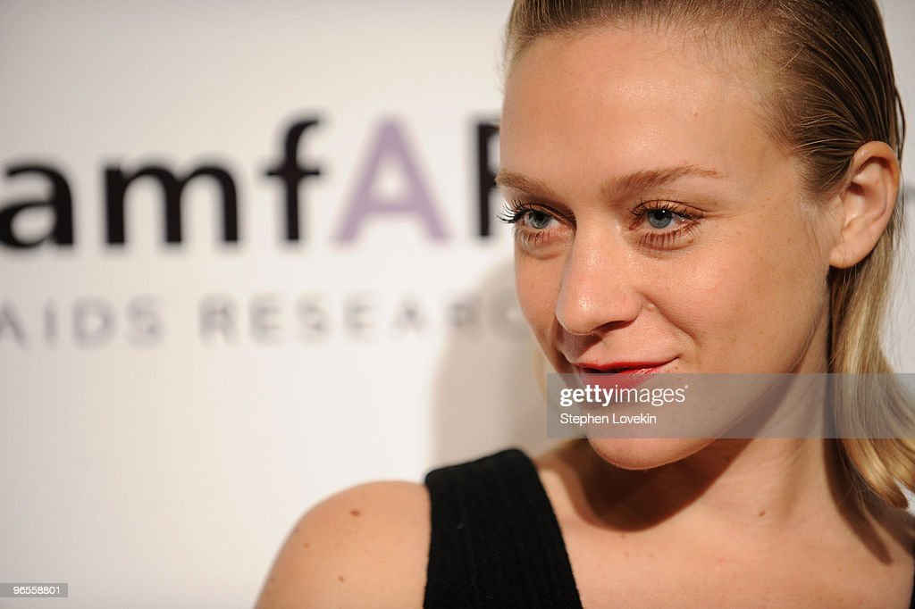 Actress Chloe Sevigny attends the amfAR New York Gala co-sponsored by M.A.C Cosmetics at Cipriani 42nd Street on February 10, 2010 in New York, New York.