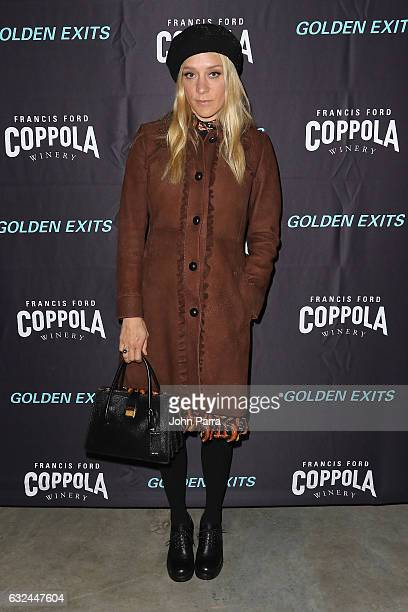 Actress Chloe Sevigny attends the Francis Ford Coppola Winery hosted Golden Exit Party at Sundance Film Festival 2017 on January 22 2017 in Park City...