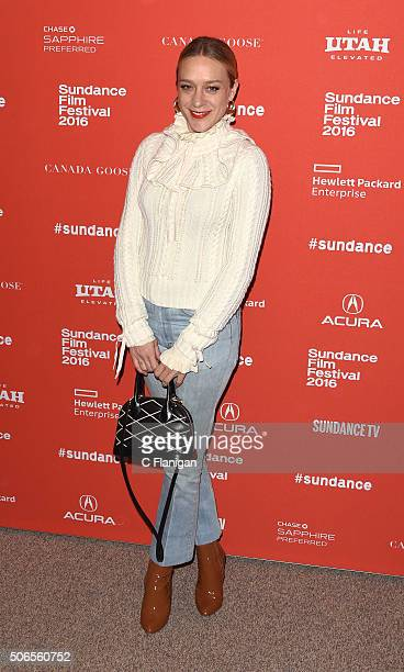 Actress Chloe Sevigny attends the 'Love Friendship' Premiere during the 2016 Sundance Film Festival at Eccles Center Theatre on January 23 2016 in...