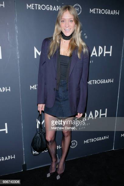 Actress Chloe Sevigny attends the Metrograph 2nd Anniversary Party at Metrograph on March 22 2018 in New York City
