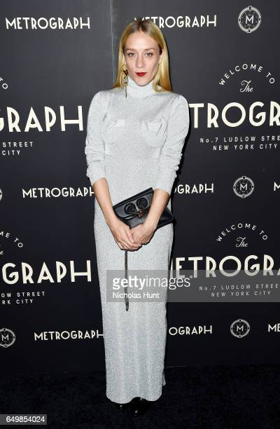 Actress Chloe Sevigny attends the Metrograph Theater 1st Year Anniversary Party at The Metrograph on March 8 2017 in New York City