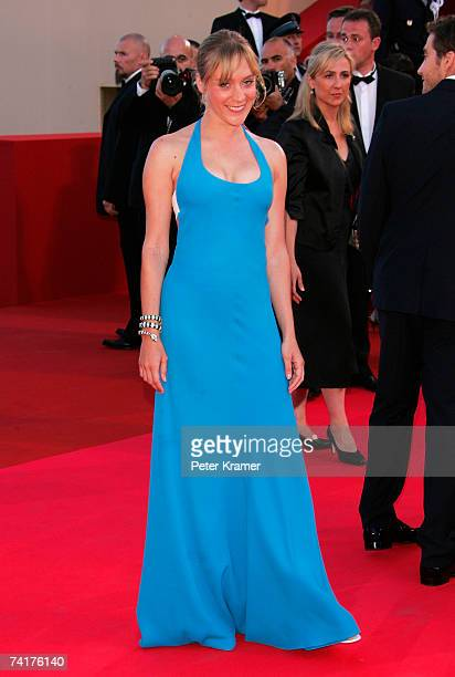 Actress Chloe Sevigny attends the premiere of the movie 'Zodiac' at the Palais des Festivals during the 60th International Cannes Film Festival on...
