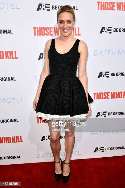 Actress Chloe Sevigny attends the premiere party for AE's Season 2 Of 'Bates Motel' series premiere of 'Those Who Kill' at Warwick on February 26...