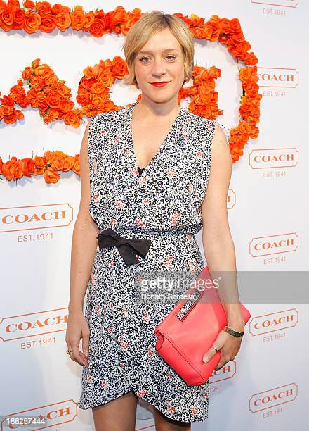 Actress Chloe Sevigny carrying Coach attends Coach's 3rd Annual Evening of Cocktails and Shopping to Benefit the Children's Defense Fund hosted by...