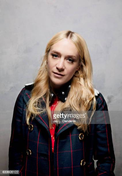 Actress Chloe Sevigny from the film Golden Exits is photographed at the 2017 Sundance Film Festival for Los Angeles Times on January 22 2017 in Park...