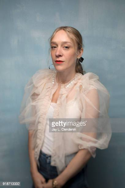 Actress Chloe Sevigny from the film 'Lizzie' is photographed for Los Angeles Times on January 20 2018 in the LA Times Studio at Chase Sapphire on...