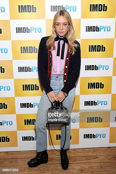 Actress Chloe Sevigny in The IMDb Studio In Park City Utah Day Two on January 23 2016 in Park City Utah