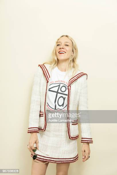 Actress Chloe Sevigny is photographed for Self Assignment on May 2018 in Cannes France