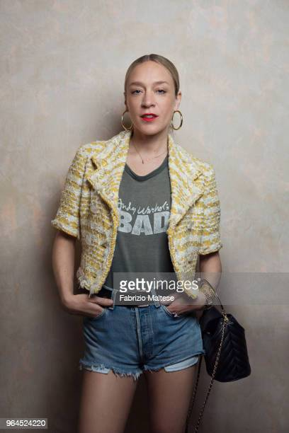 Actress Chloe Sevigny is photographed for The Hollywood Reporter on May 2018 in Cannes France