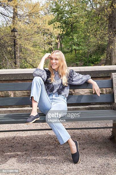 Actress Chloe Sevigny is photographed for The Wrap on April 22 2016 in Brooklyn New York