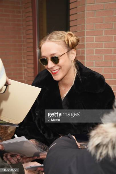 Actress Chloe Sevigny is seen at the 2018 Sundance Film Festival on January 19 2018 in Park City Utah
