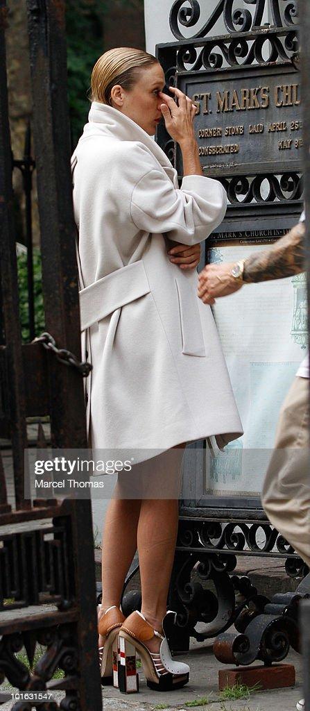 Actress Chloe Sevigny is seen in Manhattan on June 4, 2010 in New York, New York.