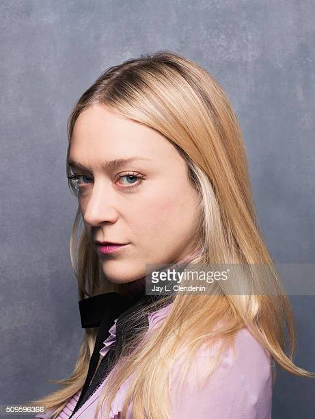 Actress Chloe Sevigny of 'Love Friendship' poses for a portrait at the 2016 Sundance Film Festival on January 23 2016 in Park City Utah CREDIT MUST...