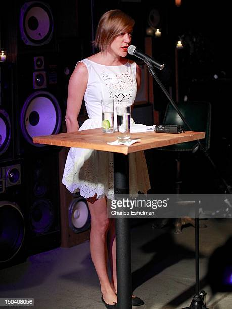 Actress Chloe Sevigny reads at the Free Pussy Riot Public Reading at Liberty Hall at Ace Hotel on August 16 2012 in New York City