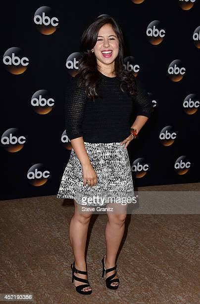 Actress Chloe Wepper attends the Disney/ABC Television Group 2014 Television Critics Association Summer Press Tour at The Beverly Hilton Hotel on...