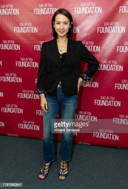 Actress Cho Yeo Jeong attends SAGAFTRA Foundation Conversations with Parasite at SAGAFTRA Foundation Screening Room on January 04 2020 in Los Angeles...