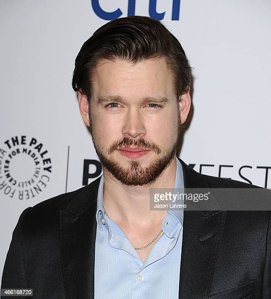 Actress Chord Overstreet attends the 'Glee' event at the 32nd annual PaleyFest at Dolby Theatre on March 13 2015 in Hollywood California