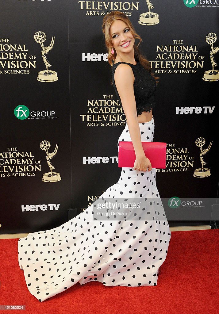 Actress Chrishell Stause arrives at the 41st Annual Daytime Emmy Awards at The Beverly Hilton Hotel on June 22, 2014 in Beverly Hills, California.