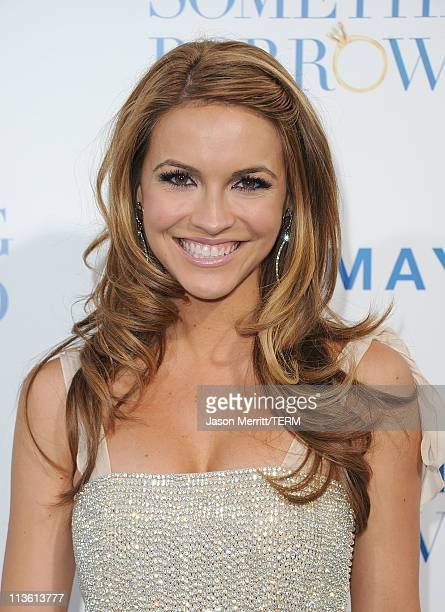 Actress Chrishell Stause arrives at the premiere of Warner Bros 'Something Borrowed' held at Grauman's Chinese Theatre on May 3 2011 in Hollywood...