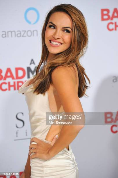 Actress Chrishell Stause attends the premiere of STX Entertainment's 'A Bad Moms Christmas' at Regency Village Theatre on October 30 2017 in Westwood...