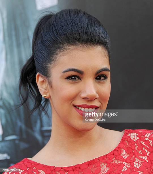 Actress Chrissie Fit arrives at the 2016 Los Angeles Film Festival The Conjuring 2 Premiere at TCL Chinese Theatre IMAX on June 7 2016 in Hollywood...