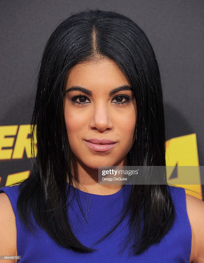 Actress Chrissie Fit arrives at the premiere of Lionsgate's 'American Ultra' at Ace Theater Downtown LA on August 18, 2015 in Los Angeles, California.