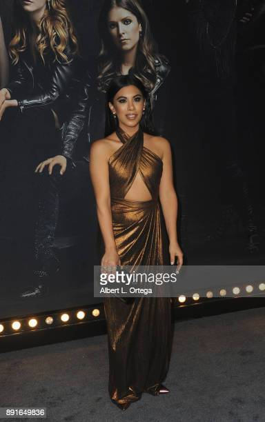 Actress Chrissie Fit arrives for the Premiere Of Universal Pictures' 'Pitch Perfect 3' held at The Dolby Theater on December 12 2017 in Hollywood...