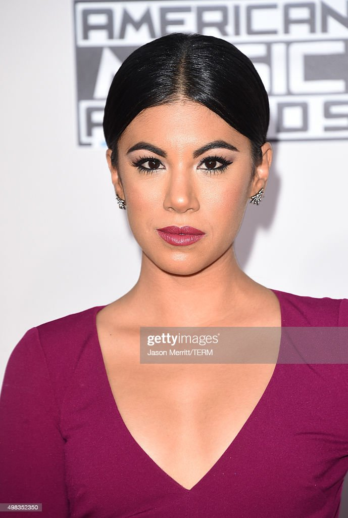 Actress Chrissie Fit attends the 2015 American Music Awards at Microsoft Theater on November 22, 2015 in Los Angeles, California.