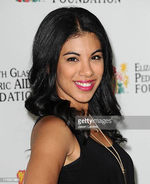 Actress Chrissie Fit attends the Elizabeth Glaser Pediatric AIDS Foundation's 24th annual A Time For Heroes at Century Park on June 2 2013 in Los...