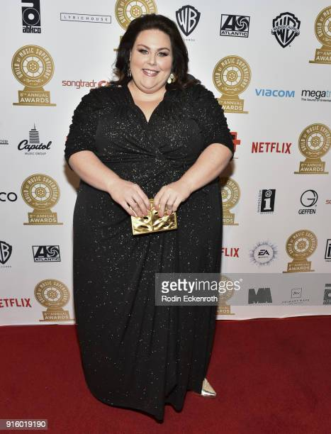 Actress Chrissy Metz arrives at the 8th Annual Guild of Music Supervisors Awards at The Theatre at Ace Hotel on February 8 2018 in Los Angeles...