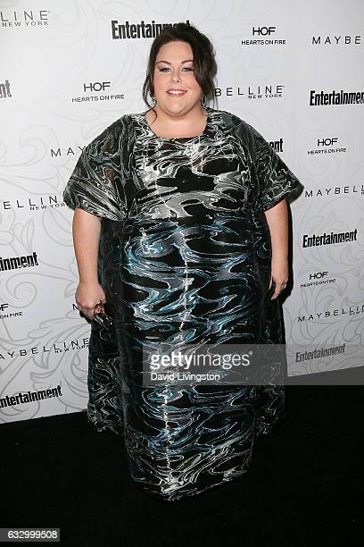 Actress Chrissy Metz arrives at the Entertainment Weekly celebration honoring nominees for The Screen Actors Guild Awards at the Chateau Marmont on...
