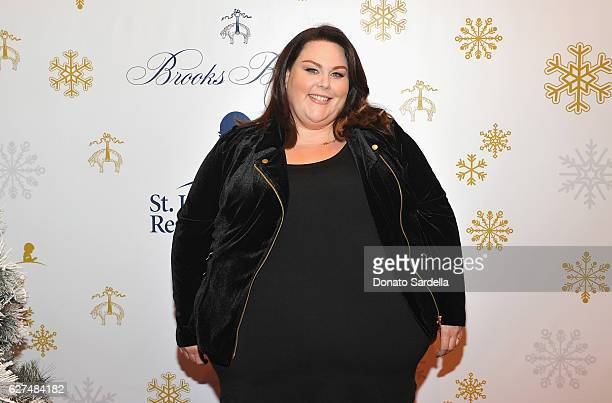 Actress Chrissy Metz attends Brooks Brothers holiday celebration with St Jude Children's Research Hospital on December 3 2016 in Beverly Hills...