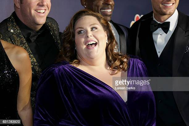 Actress Chrissy Metz attends NBCUniversal's 74th Annual Golden Globes After Party at The Beverly Hilton Hotel on January 8 2017 in Beverly Hills...