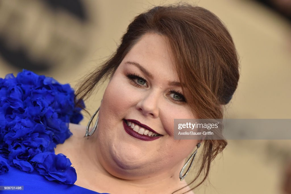Actress Chrissy Metz attends the 24th Annual Screen Actors Guild Awards at The Shrine Auditorium on January 21, 2018 in Los Angeles, California.