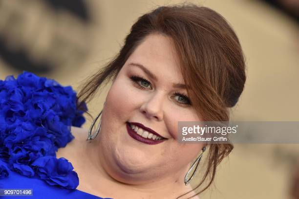 Actress Chrissy Metz attends the 24th Annual Screen Actors Guild Awards at The Shrine Auditorium on January 21 2018 in Los Angeles California