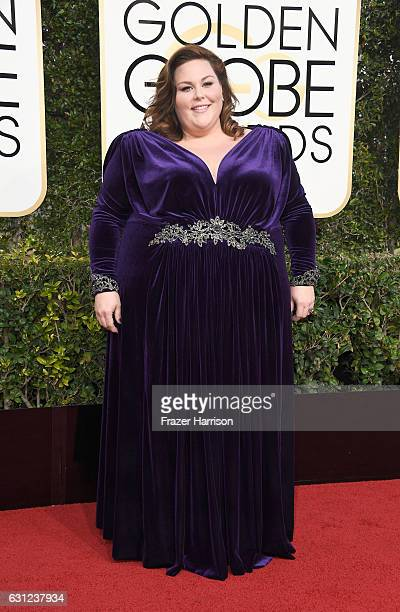 Actress Chrissy Metz attends the 74th Annual Golden Globe Awards at The Beverly Hilton Hotel on January 8 2017 in Beverly Hills California