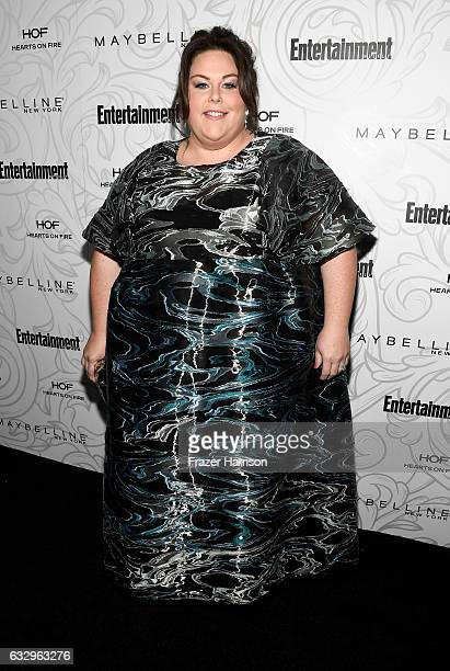 Actress Chrissy Metz attends the Entertainment Weekly Celebration of SAG Award Nominees sponsored by Maybelline New York at Chateau Marmont on...