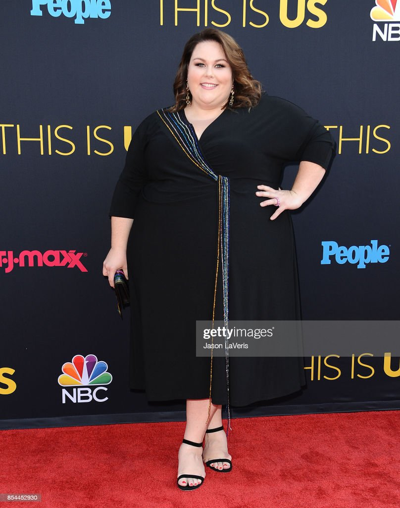 Actress Chrissy Metz attends the season 2 premiere of 'This Is Us' at NeueHouse Hollywood on September 26, 2017 in Los Angeles, California.