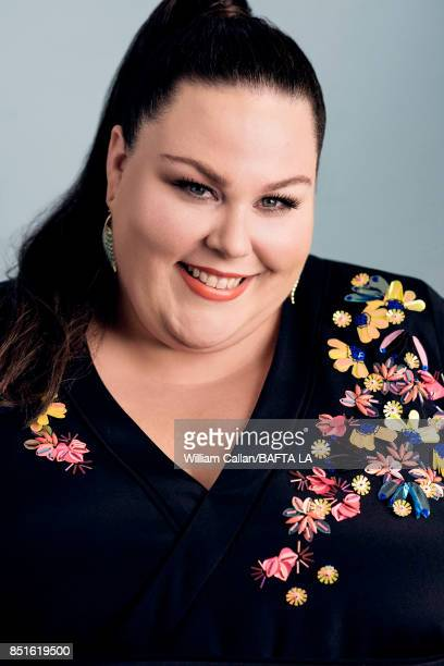 Actress Chrissy Metz from NBC's 'This Is Us' poses for a portrait BBC America BAFTA Los Angeles TV Tea Party 2017 at the The Beverly Hilton Hotel on...