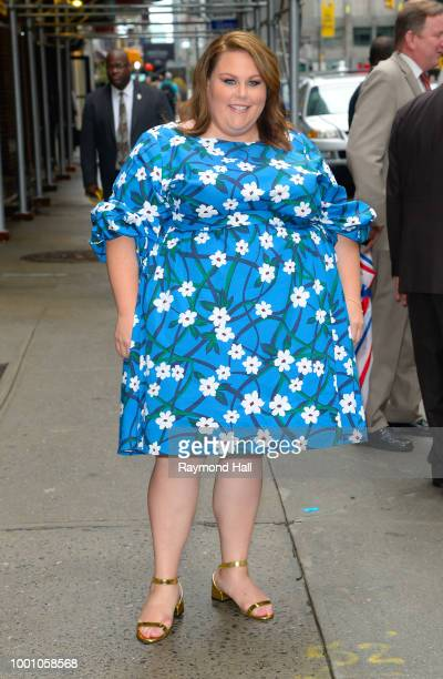 Actress Chrissy Metz is seen walking in midtown on July 17 2018 in New York City