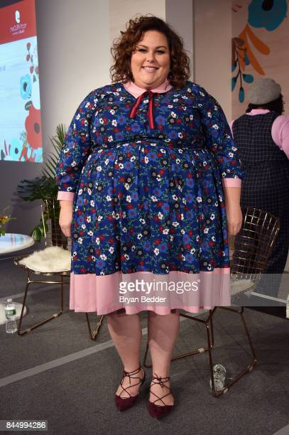 Actress Chrissy Metz speaks onstage at 3rd annual theCURVYcon presented by DiaCo during New York Fashion Week on September 9 2017 in New York City