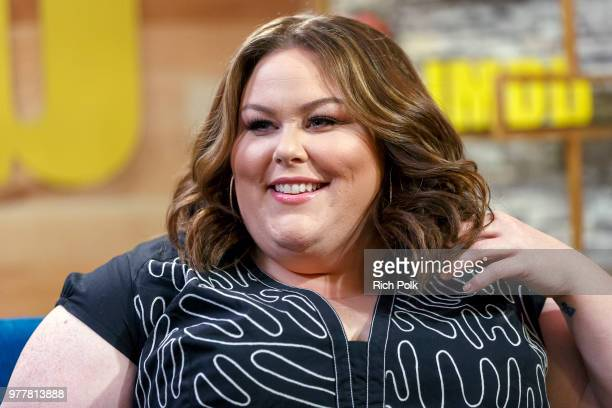Actress Chrissy Metz visits 'The IMDb Show' on June 14 2018 in Studio City California This episode of 'The IMDb Show' airs on June 28 2018