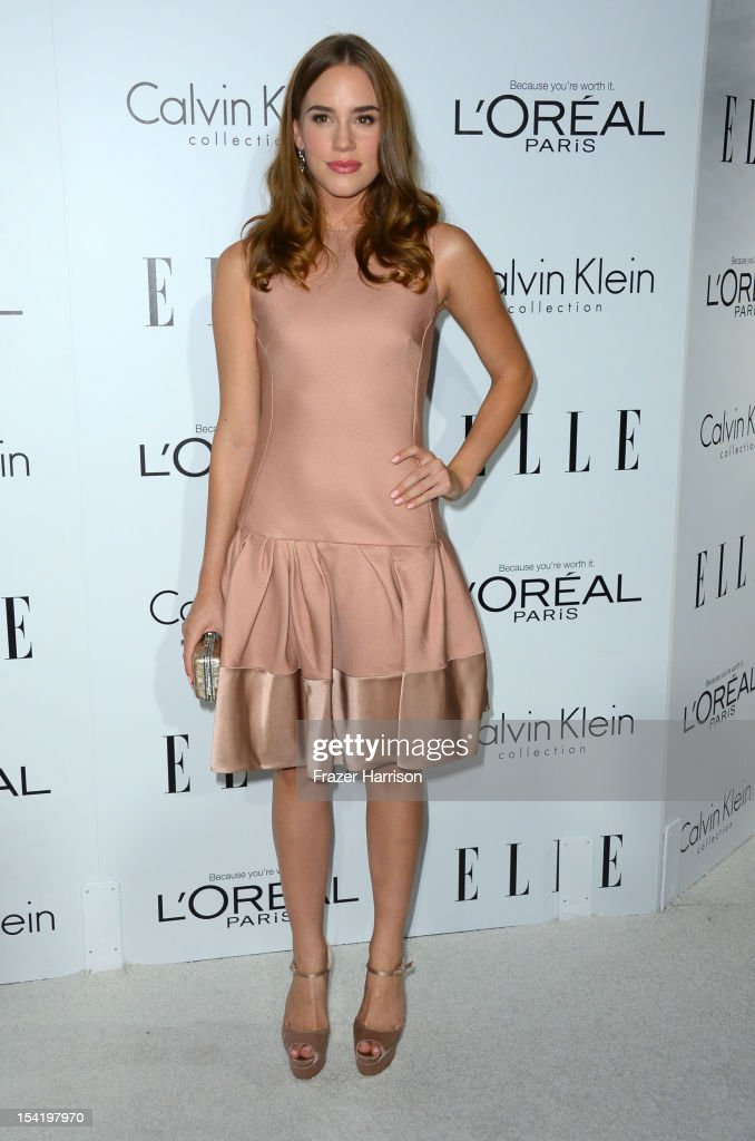 Actress Christa B. Allen arrives at ELLE's 19th Annual Women In Hollywood Celebration at the Four Seasons Hotel on October 15, 2012 in Beverly Hills, California.