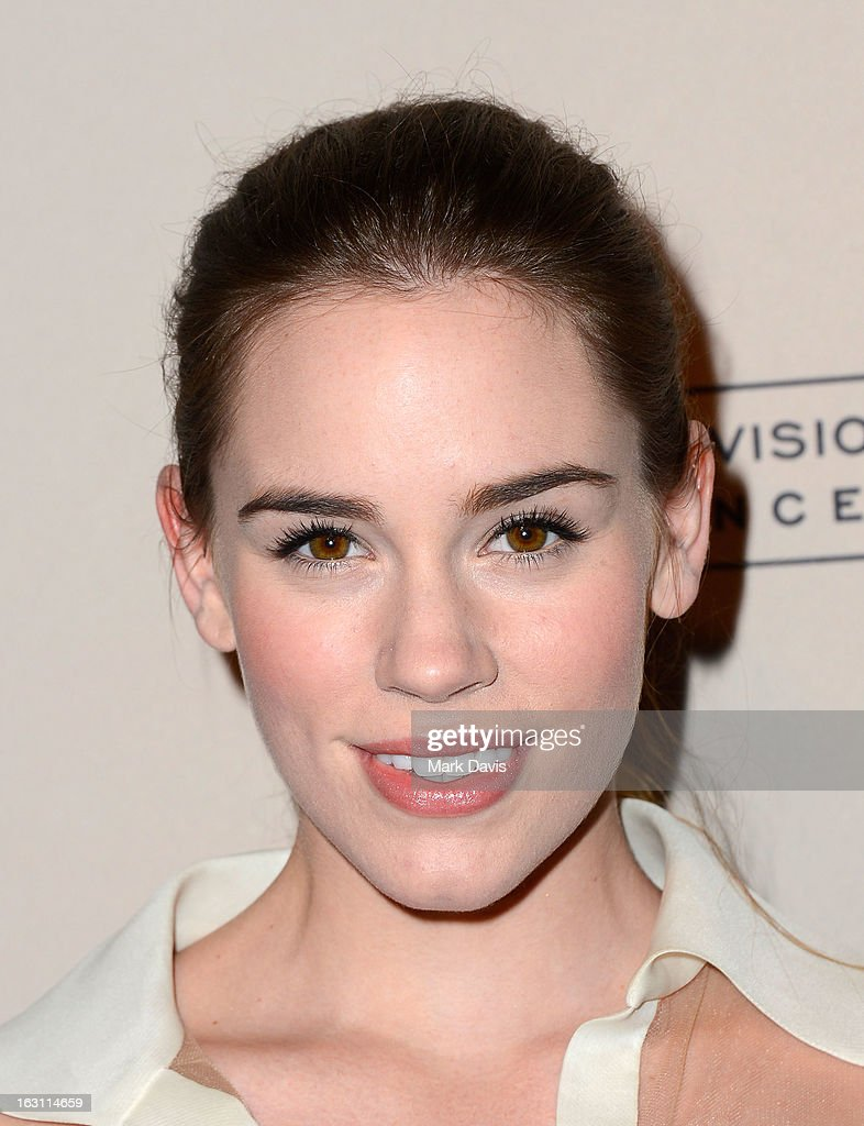 Actress Christa B. Allen arrives at the Academy of Television Arts & Sciences Presents An Evening With 'Revenge' at the Leonard H. Goldenson Theater held at the Academy of Television Arts & Sciences on March 4, 2013 in North Hollywood, California.