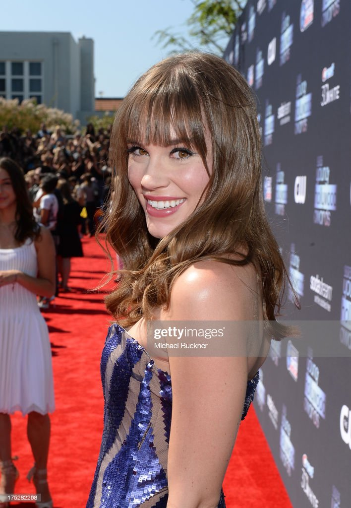 Actress Christa B. Allen attends CW Network's 2013 Young Hollywood Awards presented by Crest 3D White and SodaStream held at The Broad Stage on August 1, 2013 in Santa Monica, California.