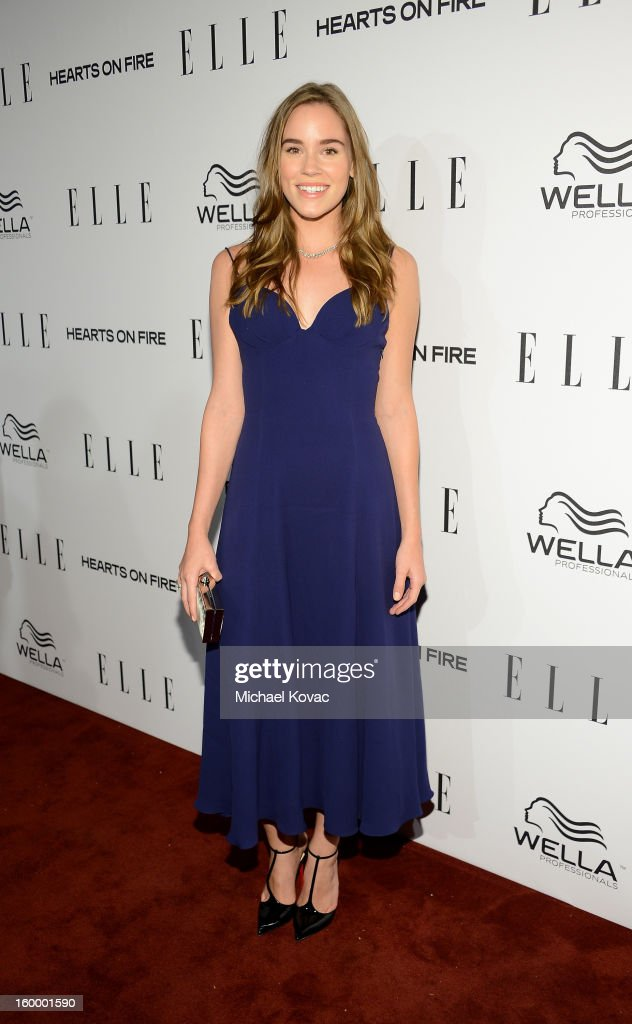 Actress Christa B. Allen attends the ELLE's Women in Television Celebration at Soho House on January 24, 2013 in West Hollywood, California.