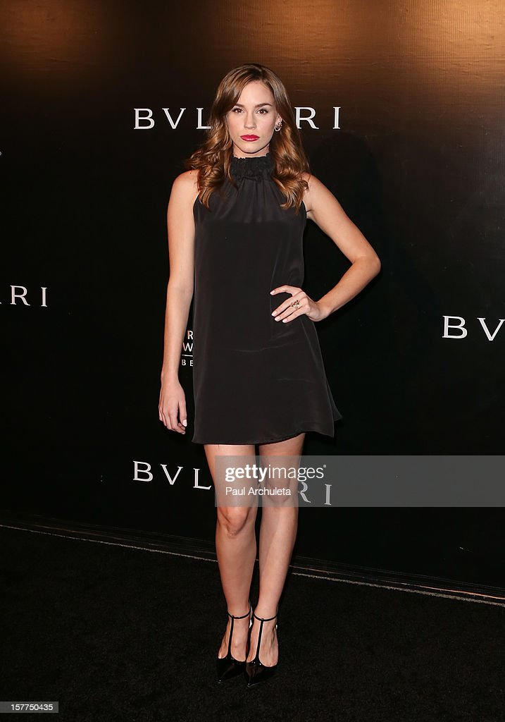 Actress Christa B. Allen attends the Rodeo Drive Walk of Style honoring BVLGARI on December 5, 2012 in Beverly Hills, California.