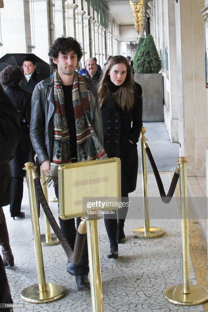 Christa B. Allen Sighting in Paris - November 23, 2012